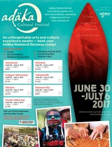 Plan your trip to the Adäka Cultural Festival!