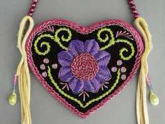 Small Purse with Beadwork with Niio Perkins