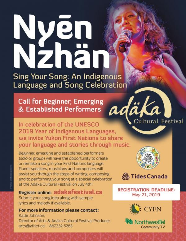 Nyēn Nzhän - Sing Your Song: An Indigenous Language & Song Celebration